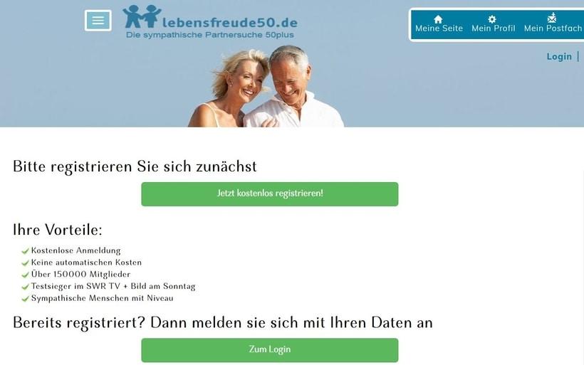 Lebensfreude50.de im Test