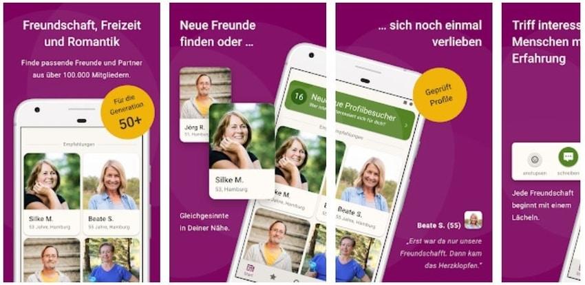 Lebensfreunde.de App im Test